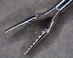 Mikroerosion feindrahterodieren Pinzetten Ophthamologie Inox